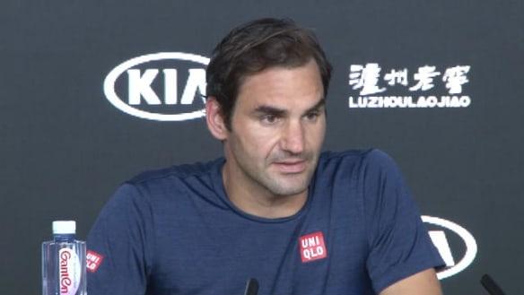 Roger Federer has spoken after crashing out of the Australian Open to young Greek sensation Stefanos Tsitsipas.