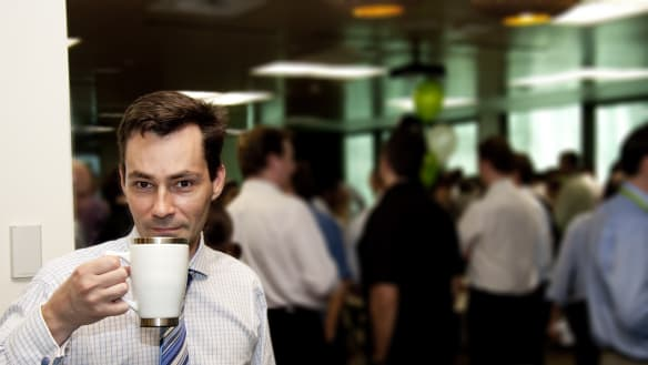 The 7 types of people you find at a public service morning tea