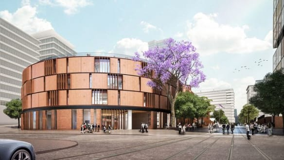 Major fire could delay Parramatta's two new schools