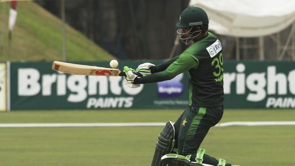 Zaman hits Pakistan's first ODI double ton