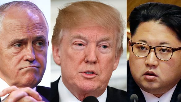 Turnbull to turn screws on North Korea ahead of unprecedented meeting