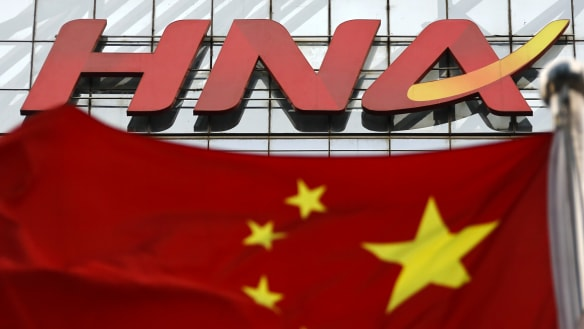 Investors dump stocks linked to China's debt-laden HNA Group