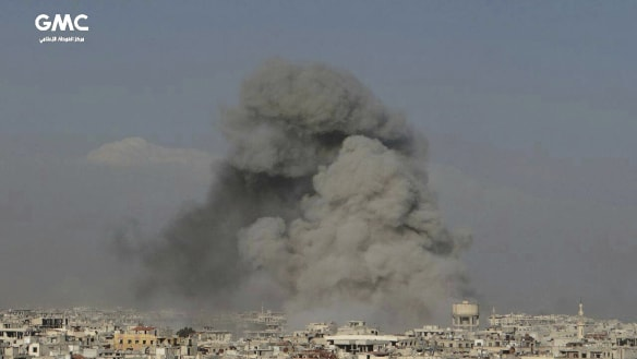 In Syria, Russia is 'both arsonist and firefighter', US general says