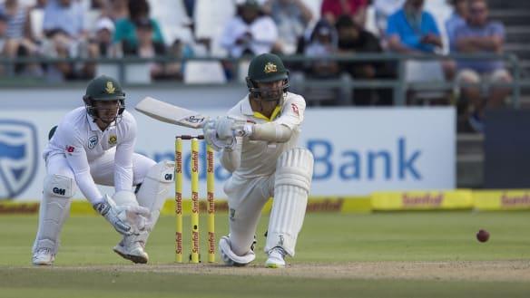 Nathan Lyon spares blushes of batsmen to keep Australia in hunt