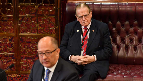 Reverend Fred Nile voted to oppose the voluntary assisted dying bill