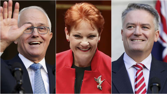 Turnbull lines up deal with Hanson on company tax cuts