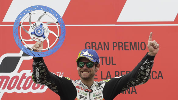 Crutchlow emerges victorious after crazy, chaotic Argentine MotoGP