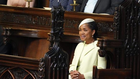 After the royal wedding, what will Doria Ragland do next?