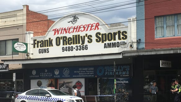 Man charged following Thornbury gun shop robbery was a shooting victim in 2016