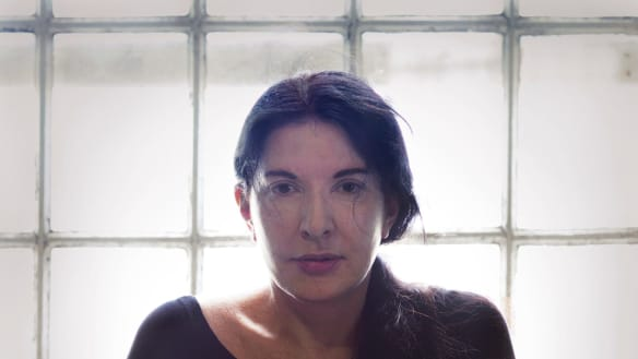 Marina Abramovic: Dealing with emotional anguish.