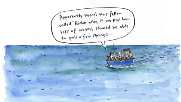 The latest illustrations from artist Cathy Wilcox