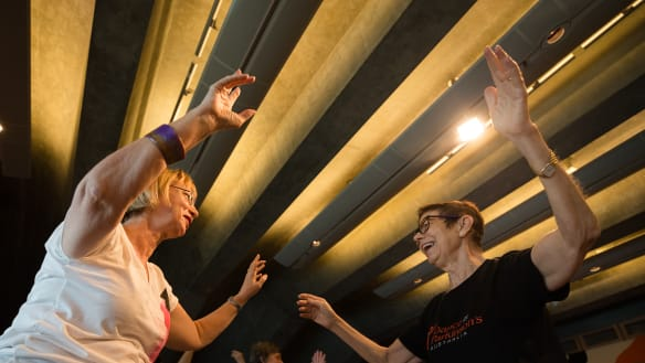 Dance for Parkinson's: Yes, you can be a Bowie hero