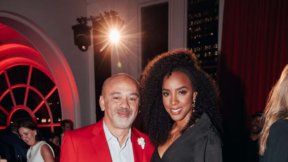 Social Seen: Christian Louboutin shows Kelly Rowland his moves
