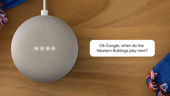 Google Home gears up for the footy season