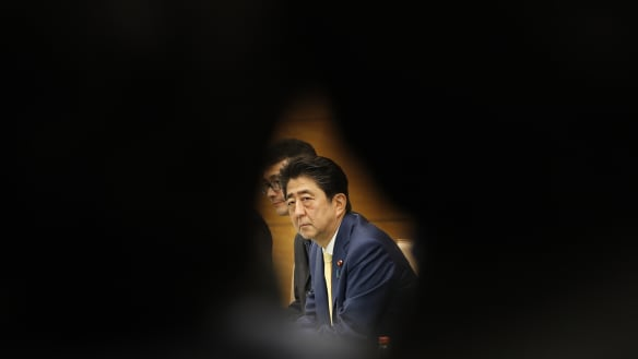 Former Japan PM Koizumi says embattled Abe may quit in June