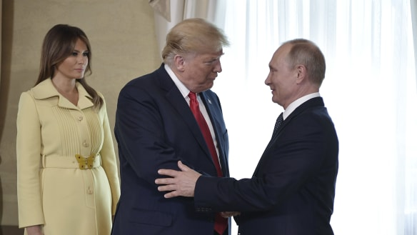 Critics of Trump have a new word in their vocabulary: treason