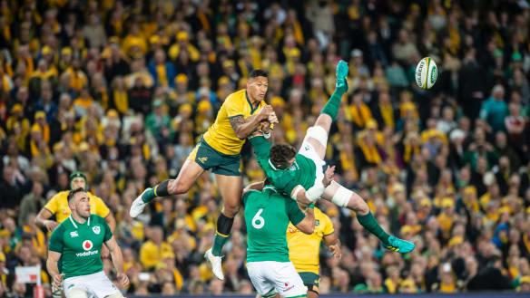 Rugby : Australia v Ireland - Third Test.