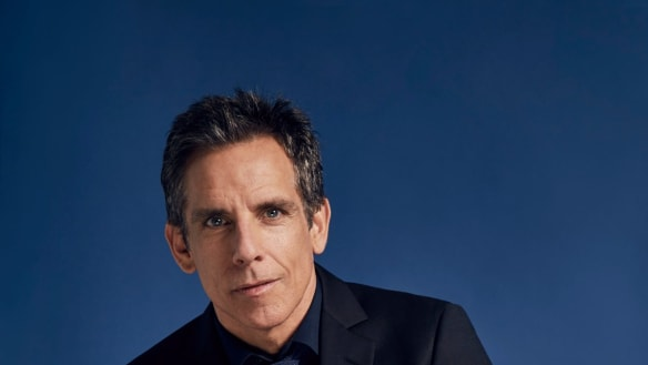 Ben Stiller: 'I was very happy to find a project that I wasn't acting in.'