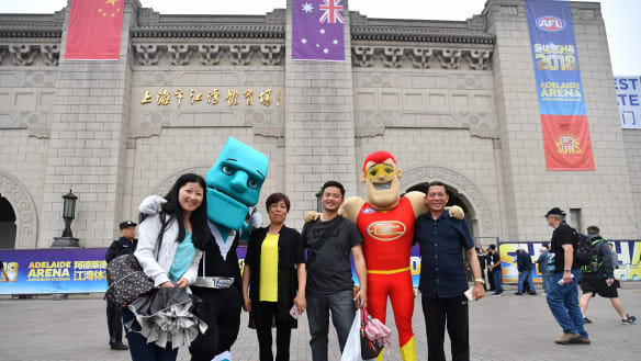 Sports diplomacy wins as Port prevails against Suns in Shanghai