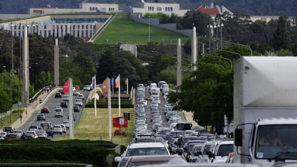 Parliament House light rail bottleneck would be 'disaster': Seselja