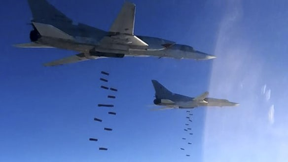 US denies reports of Syrian bombing