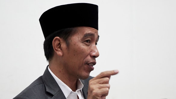 Indonesian President Widodo says Australia should be in ASEAN