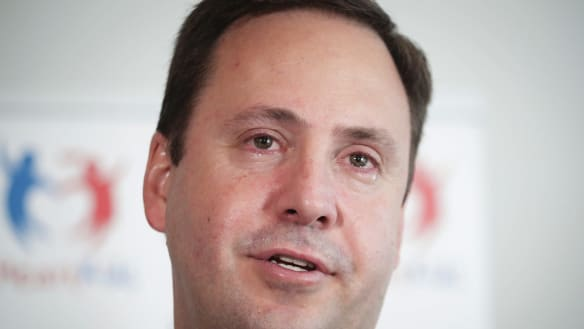 'It's about the little ones we love': Steve Ciobo reveals son's battle with heart defect