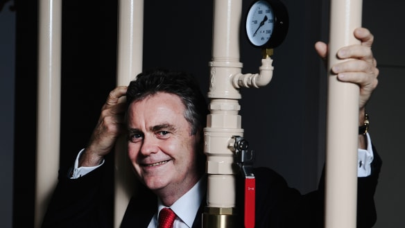 Drummer and CEO Mick McCormack faces his toughest gig