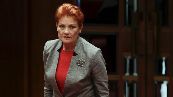 Pauline Hanson leaves door open to Latham leading One Nation