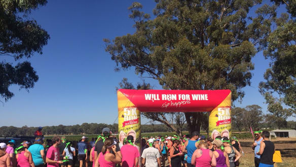 Drinking and training for a half marathon: When only wine will do