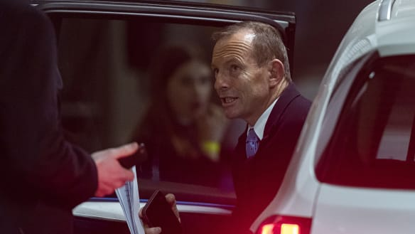 Tony Abbott: Trump is right, allies are 'free-riding' off US defence