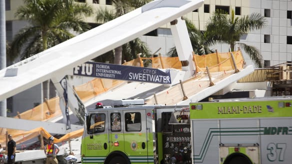 Engineer of Florida Bridge reported crack days before collapse