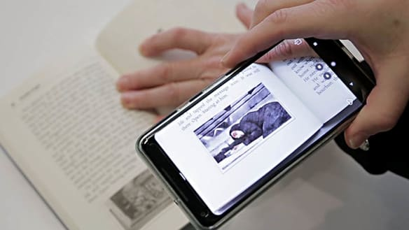When augmented reality meets novels
