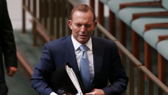Tony Abbott says Malcolm Turnbull must answer for drop in polls