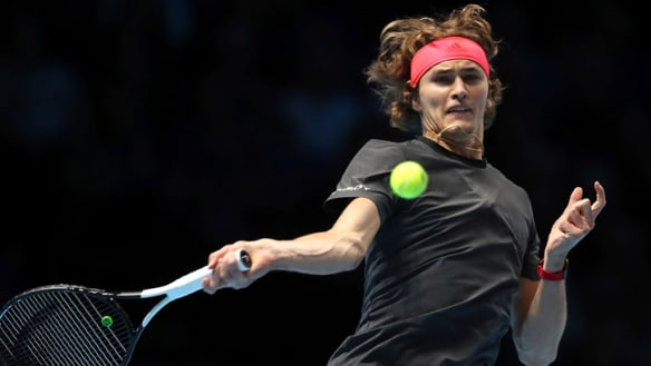 Zverev knocks off Cilic to open ATP Finals with win