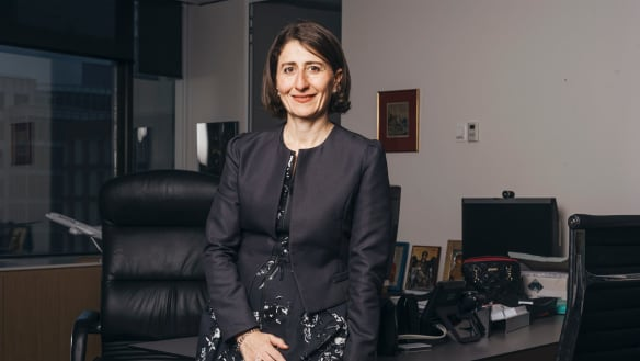From roads and rail to arenas, Gladys Berejiklian named top NSW newsmaker