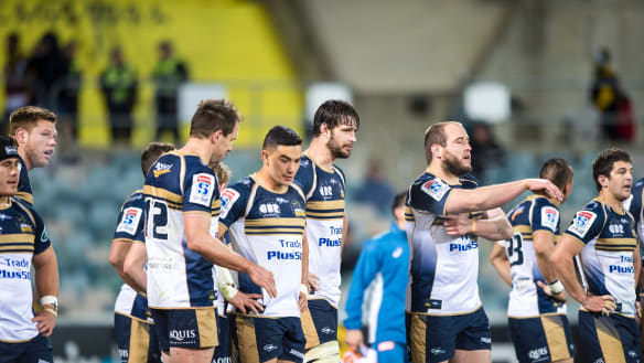 Brumbies coach Dan McKellar says young players learning the hard way