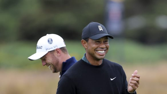 No more cuddly Tiger: Woods gets nasty with rivals