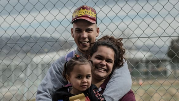 'I just want my daughter back': NAIDOC week brings families to prison