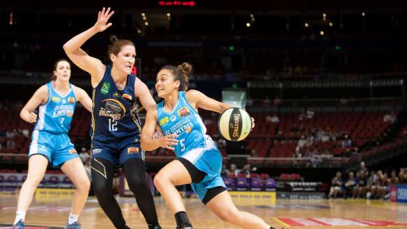 WNBL Rd 14: Sydney Flames v Canberra Capitals