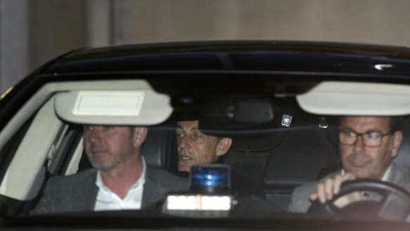 France's Sarkozy facing charges over alleged Libyan campaign funds
