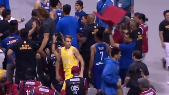 FIBA says it cannot punish violent fans as Boomers seek legal options