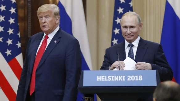 Trump sided with Putin? Well, yes, but that was 24 hours ago
