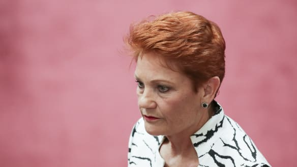 'Not good enough': Pauline Hanson reneges company tax support