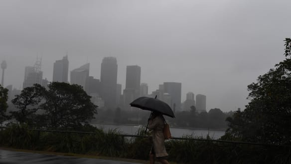 Rain relief to snap warm spell but parts of NSW may cop heavy falls