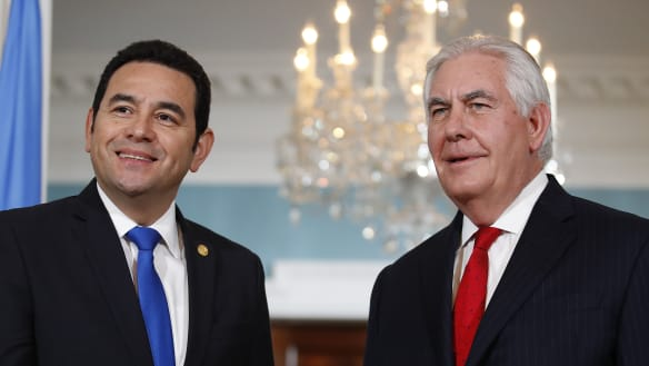 Guatemala to follow Trump by moving embassy in Israel to Jerusalem