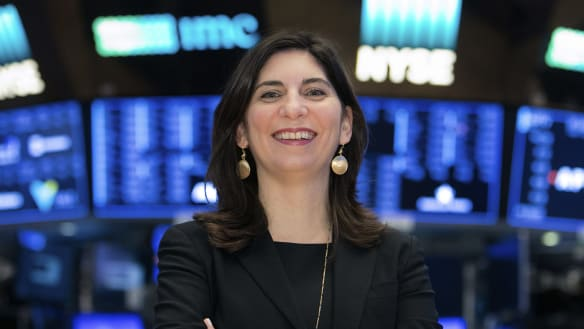 For first time in 226 years, a woman runs the New York Stock Exchange