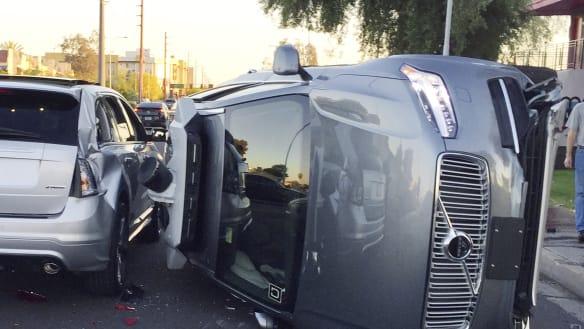 Uber self-driving car that fatally struck pedestrian was not programmed to brake