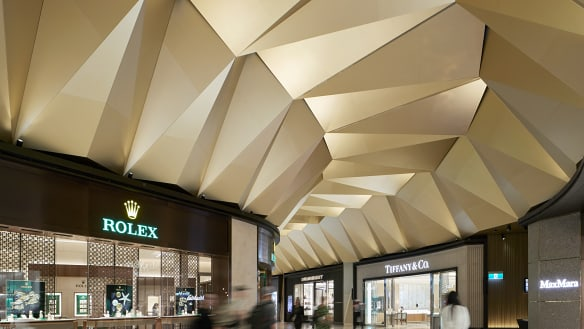 Luxury retail lifts off at Melbourne airport