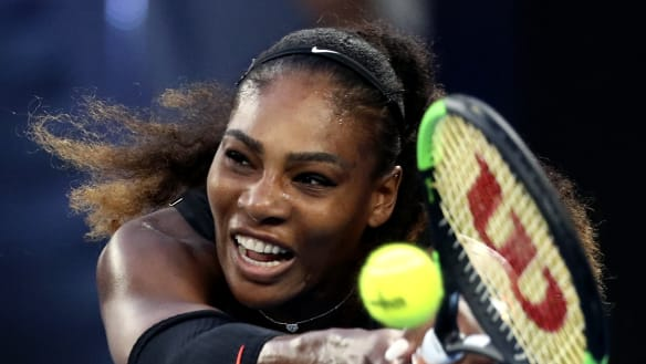 Serena Williams 'Greatest Momma of All Time' on husband's billboards